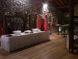 Mise en lumière - dj mariage ferme du château à Draillant 74